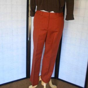 Madison Rust Color Dress Pants Size 10